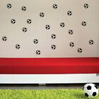 24 Football Kids Nursery Bedroom Wall Art Stickers, Wall Decals, Wall Graphics-