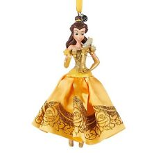 Disney Princess 2016 Belle Beauty and the Beast Sketchbook Christmas Ornament