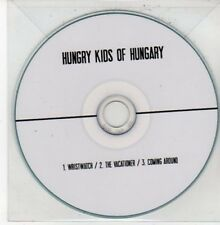 (DG78) Hungry Kids of Hungary, Wristwatch / The Vacationer - DJ CD