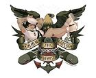 DAMN THE TORPEDOES MILITARY PIN-UP GIRL VINYL STICKER/DECAL Art by Bawidamann