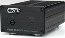 Creek Audio OBH-15 Mk2 Phono Stage Pre-Amplifier Black