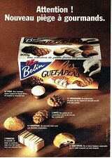 PUBLICITE ADVERTISING 126  1995  biscuits Belin  Guet-apens