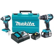 Makita XT269M 18-Volt 4.0 Ah LXT Lithium-Ion Brushless Cordless Combo Kit - 2pc