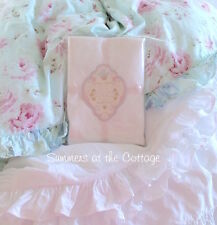 NEW Rachel Ashwell Shabby Chic White Ruffle Duvet & Pillow Sham Poplin Cotton