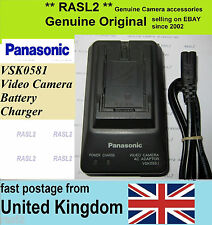 Genuine Original Panasonic VSK0581 Charger CGR-  D28s D08r D016 NV-G  GS Series