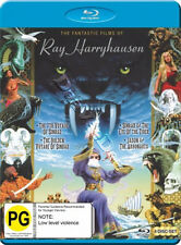 The Fantastic Films of Ray Harry Hausen NEW Classic Blu-Ray 4-Disc Set K.Mathews