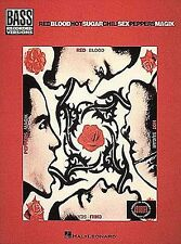 Red Hot Chili Peppers Blood Sugar Sex Magik Magic Bass Guitar TAB Music Book