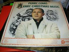 Perry Como-Merry Christmas Music-LP-Pickwick-CAS 660-Shrink-Vinyl Record-VG+