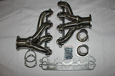 1FOR 429/460 FORD SBC SMALL BLOCK HUGGER SHORTY SS EXHAUST RACING HEADER+GASKET