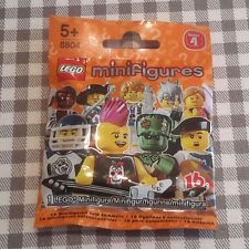 Lego minifigures series 4 (8804) unopened mystery sealed bag