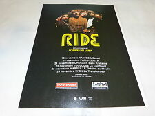 RIDE - CARNIVAL OF LIGHT!!!!!!!!!!!!!PUBLICITE / ADVERT