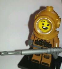 Lego Minifigures Series 8 Deep Sea Diver in Diving Suit  minifig