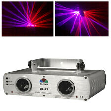 Shinp 300mW Purple  Red Laser Stage Lighting Light DMX512 Disco Party KTV DJ
