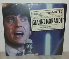 CD GIANNI MORANDI - LIVE AT RTSI - NUOVO - NEW