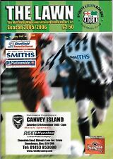 Football Programme FOREST GREEN ROVERS v CANVEY ISLAND Nov 2005