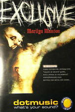 MARILYN MANSON POSTER EXCLUSIVE