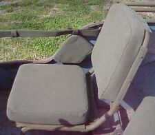 Military Jeep MB/GPW Front Seat Cushion Canvas Kit 1 Day Handling!