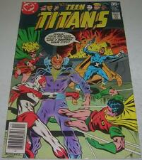 TEEN TITANS #52 (DC Comics 1977) JOKER'S daughter THE HARLEQUIN app (FN/VF)