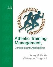 Athletic Training Management: Concepts and Applications with eSims Bind-in Card