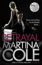 Betrayal, By Cole, Martina,in Used but Good condition
