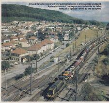 1983  --  ARRIVEE D UN TRAIN A HARGARTEN FALK    3F106