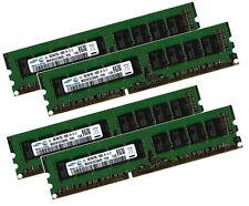 4x 8gb 32gb ddr3 ECC RAM F. asus p7f-e p7f-x p7f-m p7f-c pc3-10600e unbuffered