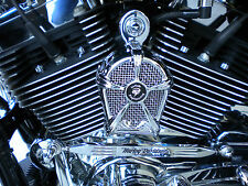 LeNale Cooling Fan - Chrome - fits 85 - 16 Softail Harley Davidson - New Design!