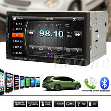 "Double 2Din Stereo Car 6.95""Touchscreen DVD CD MP4 Player Bluetooth Radio SD/USB"