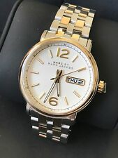Marc by Marc Jacobs MBM5079 Mens Two-Tone Stainless Steel Watch w/ Day Date NWT