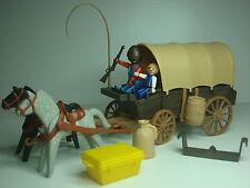 Carreta Oeste Playmobil 3278 Familia Colonos Diligencia Carro Carromato Western