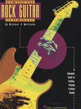 THE ULTIMATE ROCK CHITARRA scala finder Scheda musica libro di Michael wolfsohn