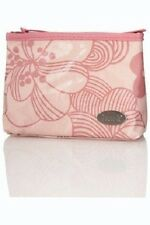 FCUK Light Baby Pink Floral Make-Up Cosmetics Bag Purse/Case/French/Connection