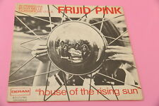 "SOLO COPERTINA FRIJID PINK 7"" HOUSE OF RISING SUN ORIG ITALY 1970"