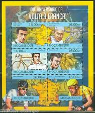 MOZAMBIQUE  2013 100th ANNIVERSARY OF THE TOUR de FRANCE  SHEET MINT NH