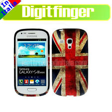Samsung GALAXY S3 Mini I8190 CUSTODIA TPU Cover BANDIERA Inglese BRITISH Flag