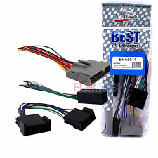 BHA5514 Radio Replacement Installation Harness for Ford/Lincoln/Mercury/Mazda