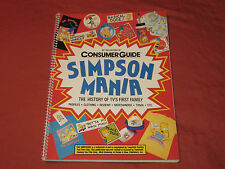 Consumer Guide Simpson Mania: The History Of TV'S First Family Book