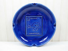Vintage Aquarius Zodiac Sign Ashtray Adult Novelty Sexual Position 70s Ceramic