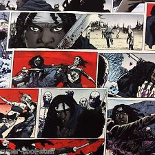 MD56 The Walking Dead Zombie Crafting By the Yard Cotton Fabric Quilt Fabric
