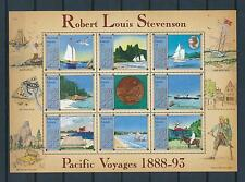 [24544] Marshall Isl. 1988 Ships Boats Robert Stevenson Pacific travel MNH