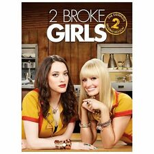 (TWO) 2 BROKE GIRLS~ THE COMPLETE SECOND 2ND SEASON 2 TWO~NEW ~  RARE DVD BOXSET