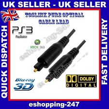 2M Optical Male HD Toslink Selector Splitter Dolby 5.1 DVD PS3 HiFi Cable C028