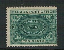 CANADA.1989-1920.   SC.S2. 10 cents SPECIAL DELIVERY. MOUNTED MINT