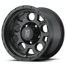16 Inch Black Wheels Rims Ford Truck F 250 F 350 8x6.5 Lug XD Series XD122 16x9