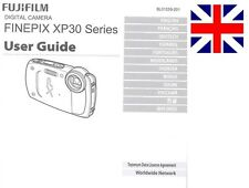 Fujifilm FinePix XP30 Series Digital Camera Original Instruction Manual