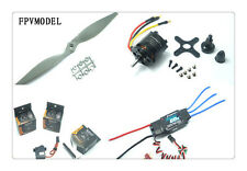 Free Shipping Skyhunter airplane power combo (Motor, ESC, Props and Servos kit)