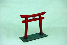Japan TORII TEMPLE GATE SAMURAI/ JAPANESE 28mm Laser cut MDF scale Building B002