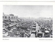 "*Postcard-""The City Market""  ...ChinaTown in Los Angeles, California (#55)"