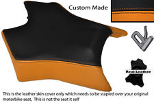 BLACK & ORANGE CUSTOM FITS DERBI GPR 50 125 UNDERSEAT EXHAUST 07-13 FRONT COVER