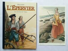BD TS - L'epervier 6  Les larmes de Tlaloc + ex-libris n° s / PELLERIN / ALBUM